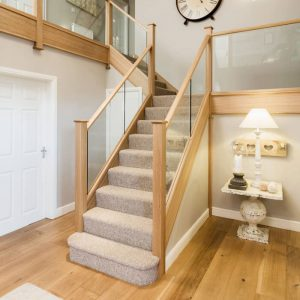 Box Stairs Carpet Install Package