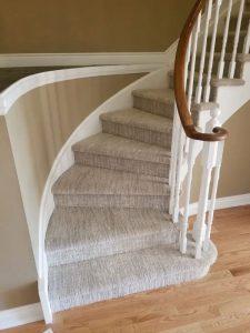 Carpeted Stairs - El Nino Flooring